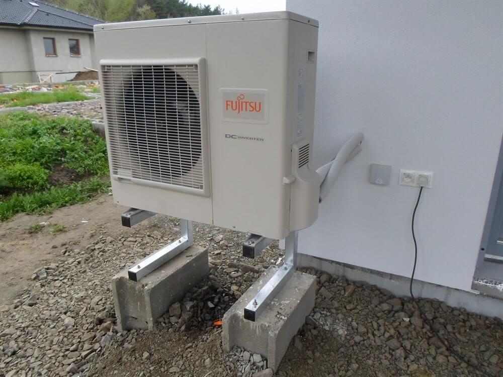 Tepelné čerpadlo Fujitsu - foto venkovní jednotky