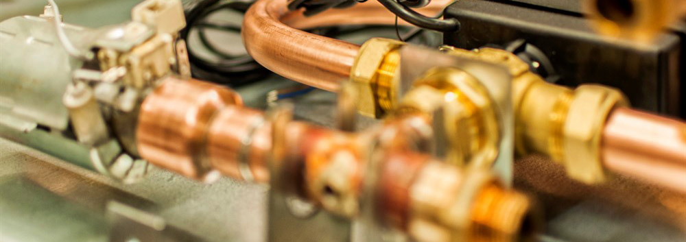 hydro - součást vnitřní jednotky tepelného čerpadla foto