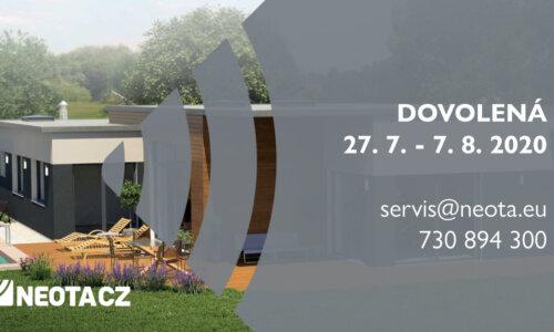 Letní celofiremní dovolená 27.7.-7.8.2020